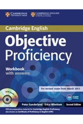Objective Proficiency - Workbook With Answers And Audio CD - 2nd Ed. - Sunderland,Peter | Tagrny.org