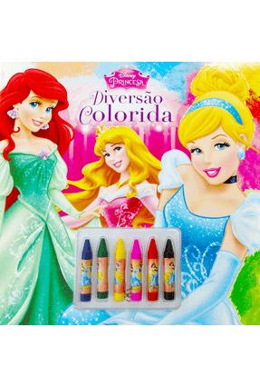 Disney - Diversão Colorida - Princesas - Disney-Pixar Equipe Dcl pdf epub