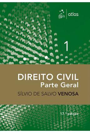 Direito Civil - Parte Geral - Vol. I - 17ª Ed. 2016 - Venosa,Silvio de Salvo pdf epub