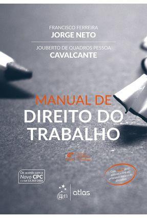 Manual de Direito do Trabalho - 4ª Ed. 2017 - Cavalcante,Jouberto de Quadros Pessoa Jorge Neto,Francisco Ferrerira pdf epub