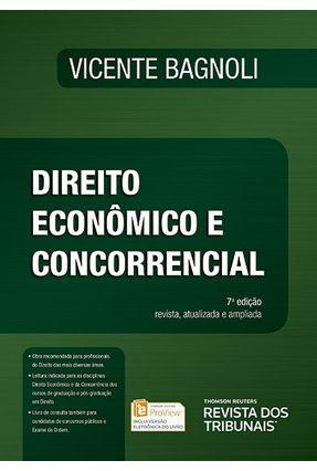 Direito Econômico E Concorrencial - 7ª Ed. 2017 - Bagnoli,Vicente   Hoshan.org