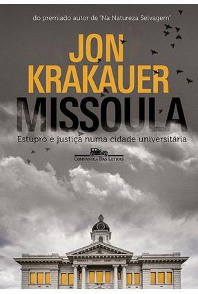 Missoula - Krakauer,Jon | Nisrs.org