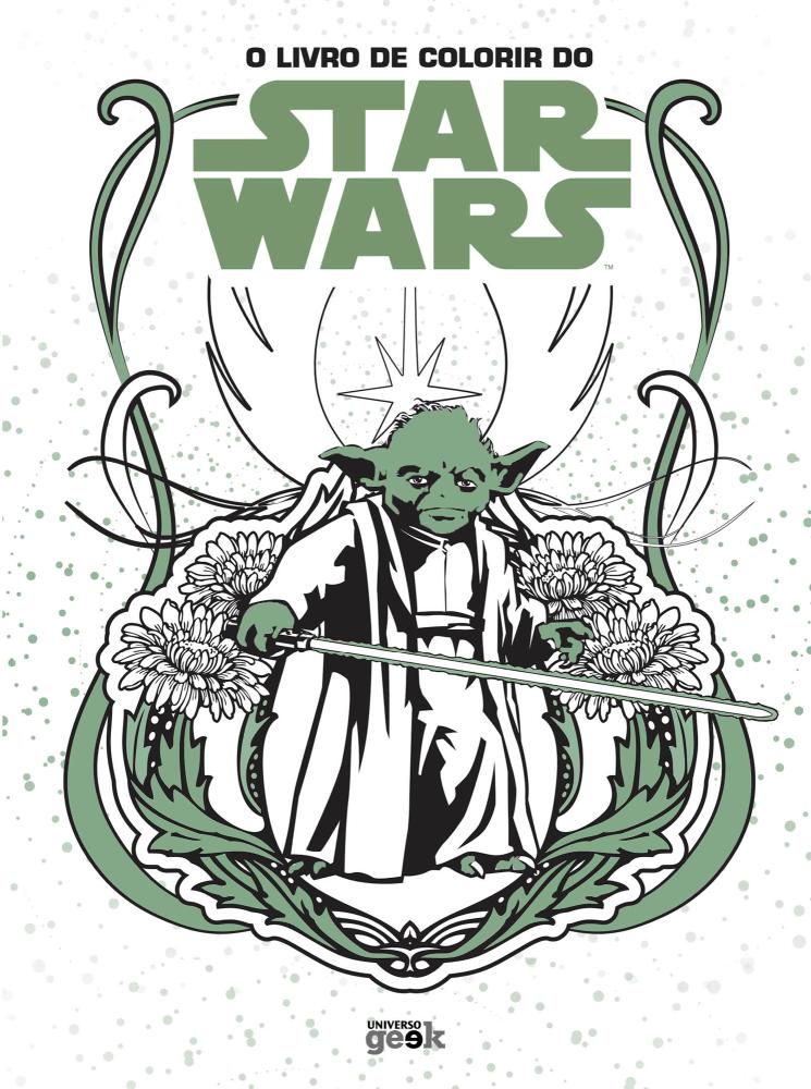 O Livro De Colorir De Star Wars Saraiva