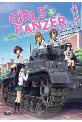 Girls and Panzer vol. 1 - Ryouichi Saitaniya   Hoshan.org