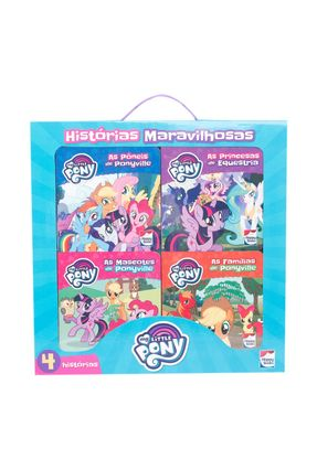 My Little Pony - Histórias Maravilhosas-Kit C/04 Und. - Fucci,Emma | Hoshan.org