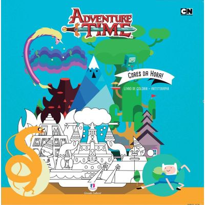 Adventure Time - Cores da Hora - Col. Arteterapia