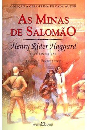 As Minas de Salomão - Texto Integral - Col. A Obra-Prima de Cada Autor - Haggard,Henry Rider Queirós,Eça De | Hoshan.org