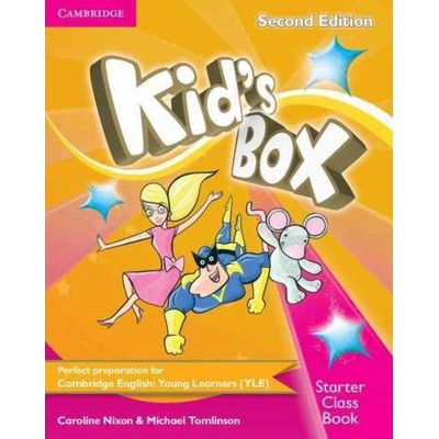 Kids Box Starter - Class Book With CD-ROM -  2nd Ed.