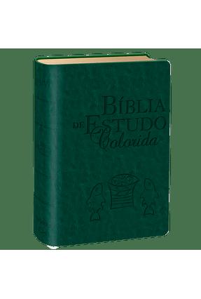 Bíblia de Estudo Colorida - Letra Grande - Capa Verde - Books,Bv pdf epub