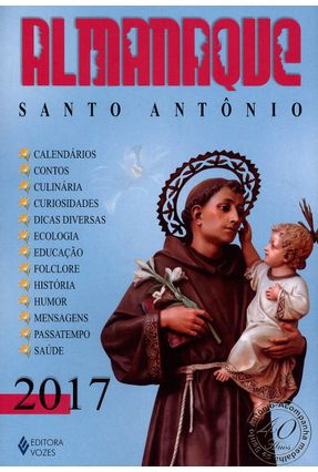 Almanaque Santo Antônio 2017 - Pasini,Edrian Josué | Nisrs.org