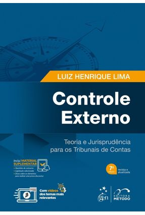 Controle Externo - Teoria e Jurisprudência Para Os Tribunais De Contas - 7ª Ed. 2017 - Lima,Luiz Henrique pdf epub