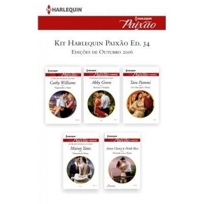 Kit Harlequin Harlequin Jessica Especial Out.16 - Ed.34