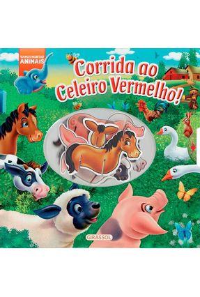 Corrida Ao Celeiro Vermelho - Vamos Montar Animais - Brenda Apsley   Hoshan.org