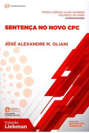 Sentença No Novo CPC - Tereza Arruda Alvim Wambier José Alexandre M. Oliani Talamini,Eduardo | Tagrny.org
