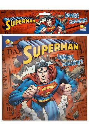 Superman - Col. Vamos Colorir! - Editora Todolivro   Nisrs.org