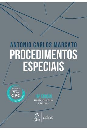 Procedimentos Especiais - 16ª Ed. 2016 - Marcato,Antonio Carlos pdf epub
