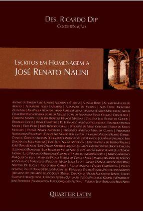 Escritos Em Homenagem A José Renato Nalini - Dip,Ricardo   Hoshan.org