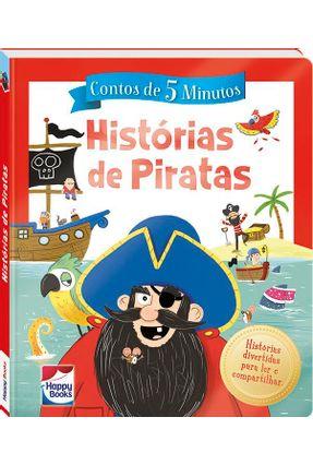 Contos De 5 Minutos: Histórias De Piratas - Woods,Jenny   Hoshan.org