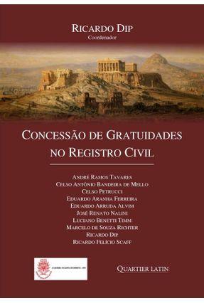 Concessão De Gratuidades No Registro Civil - RICARDO DIP pdf epub