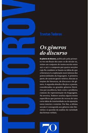 Os Géneros Do Discurso - Todorov,Tzvetan pdf epub