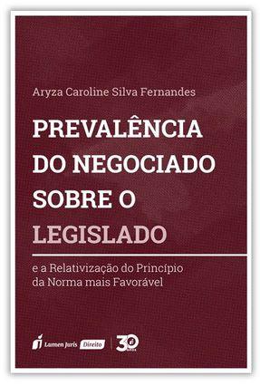 Prevalência Do Negócio Sobre O Legislado - Fernandes,Aryza Caroline Silva   Hoshan.org