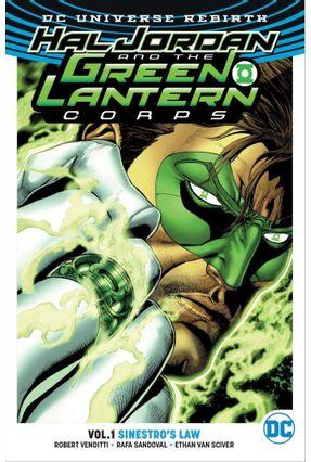 Hal Jordan And The Green Lantern Corps Vol. 1 - Sinestro's Law - Dc Rebirth - Venditti,Robert Rafa Sandoval | Tagrny.org