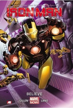 Iron Man Vol.1 - Believe - Gillen,Kieron | Hoshan.org