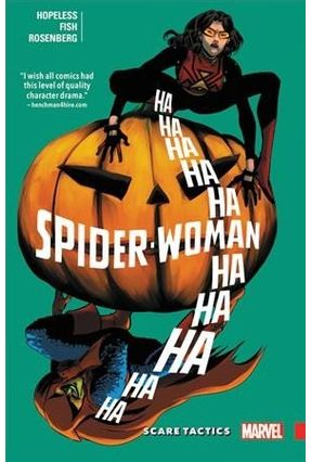 Spider-Woman - Shifting Gears, Volume 3 - Scare Tactics - Hopeless,Dennis | Tagrny.org