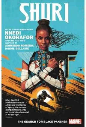 Shuri - The Search For Black Panther - Romero,Leonardo Okorafor,Nnedi | Tagrny.org