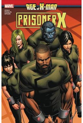 Age Of X-Man: Prisoner X - Ayala,Vita   Hoshan.org