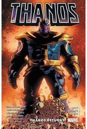 Thanos, Volume 1 - Thanos Returns - Lemire,Jeff pdf epub