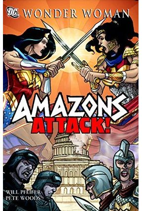Wonder Woman- Amazons Attack SC - Pfeifer,Will pdf epub