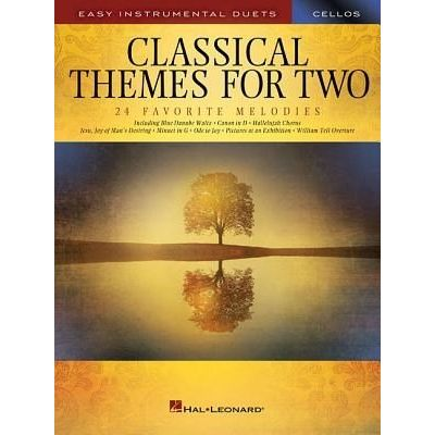 Classical Themes For Two Cellos - Easy Instrumental Duets