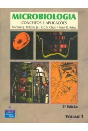 Microbiologia Vol. I - 2ª Edição 1996 - Pelczar,Michael   Tagrny.org