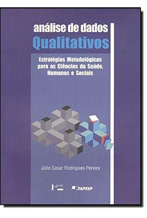 Analise De Dados Qualitativos - Pereira,Julio Cesar Rodrigues | Hoshan.org
