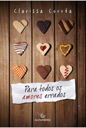 Para Todos Os Amores Errados - Clarissa Correa | Hoshan.org