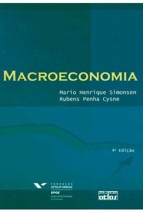 Macroeconomia - 4ª Ed. 2009 - Simonsen,Mario Henrique | Hoshan.org
