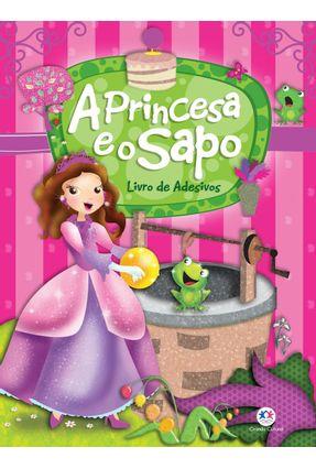 Livro de Adesivos - A Princesa e o Sapo - sueli brianezi | Hoshan.org