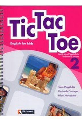 Tic Tac Toe - English For Kids 2 - 3º Ano - Magalhães,Tania   Hoshan.org