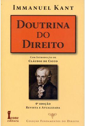 Doutrina do Direito - Col. Fundamentos do Direito - 4ª Ed. 2013 - Kant,Immanuel | Hoshan.org