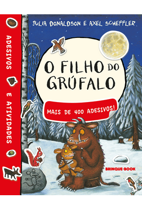 O Filho do Grúfalo - Livro de Adesivos - Donaldson,Julia | Tagrny.org
