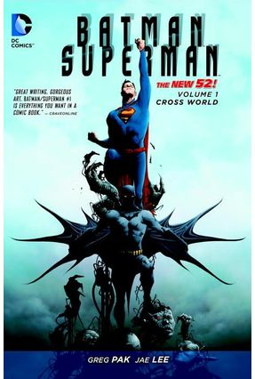 Batman/Superman Vol. 1 - Cross World - Pak,Greg | Hoshan.org