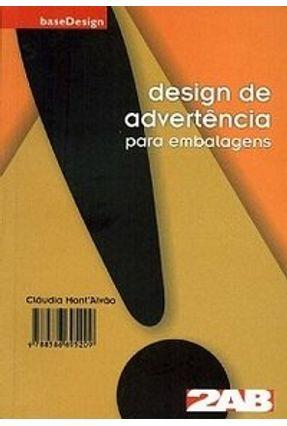Design de Advertência para Embalagens - Montalvão,Cláudia | Tagrny.org
