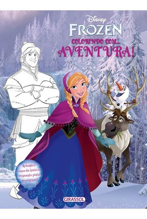 Disney Frozen - Colorindo Com Aventura! - Disney pdf epub