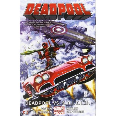 Deadpool Vol.4 - Deadpool Vs. S.H.I.E.L.D.