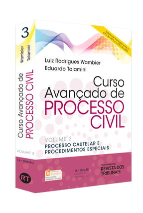 Edição antiga - Curso Avançado de Processo Civil - Vol. 3 - 14ª Ed. 2015 - Talamini,Eduardo Wambier,Luiz Rodrigues | Tagrny.org