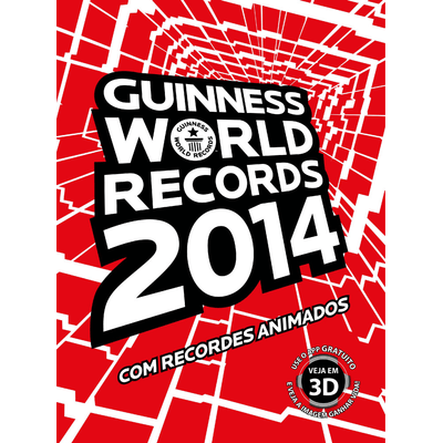 Edição antiga - Guinness World Records 2014 - Com Recordes Animados
