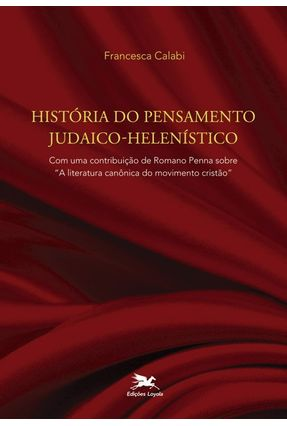 História do Pensamento Judaico-helenístico - Calabi,Francesca   Nisrs.org