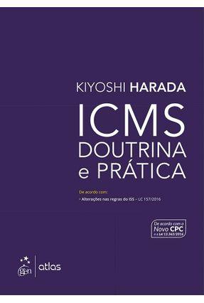 ICMS - Doutrina e Prática - Harada,Kiyoshi pdf epub