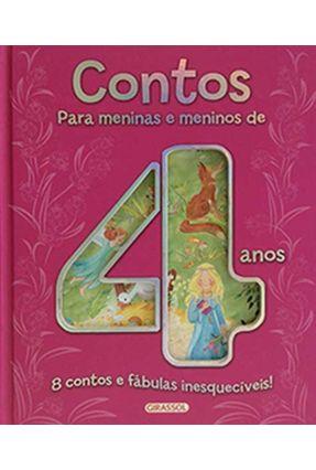 Contos Para Meninas e Meninos De 4 Anos - Paz,Maria Luisa De Abreu Lima Krausz,Mônica Campos,Pilar   Nisrs.org